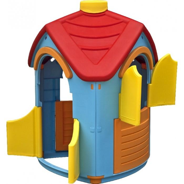 Игровой домик Palplay (Marian Plast) Вилла 660Вилла 660Домик Вилла – уникальная игрушка. В нем ребенок становится хозяином собственного «сказочного мира».    В процессе игры малыш примеряет на себя различные социальные роли, тем самым происходит первичный процесс адаптации Когда ребенок играет с друзьями, у него улучшается коммуникативный процесс, что также важно для будущей жизни.   Домик сделан из качественного пластика. Имеет красочный дизайн, имитирующий «реальный дом». Удобная конструкция позволяет легко собирать домик, а также без труда размещать его как в квартире, так и на природе. Домик Вилла- приятный и оригинальный, принесет радость и восторг ребенку.  Размеры: 95x102x126<br>