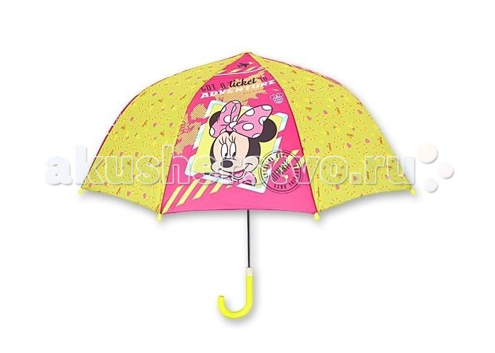 Детский зонтик Играем вместе трость Дисней Мини (купол 70 см)