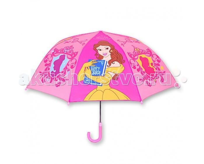 Детский зонтик Играем вместе Дисней Принцессы (купол 70 см)Дисней Принцессы (купол 70 см)Детский зонтик Играем вместе Дисней Принцессы (купол 70 см) собственный зонт для прогулок в дождливую погоду.   Материал каркаса ветроустойчивый, обладает особой прочностью металла и стойкостью полимера, при этом легкий и долговечный, а концы спиц снабжены пластмассовыми наконечниками для защиты от травм.<br>
