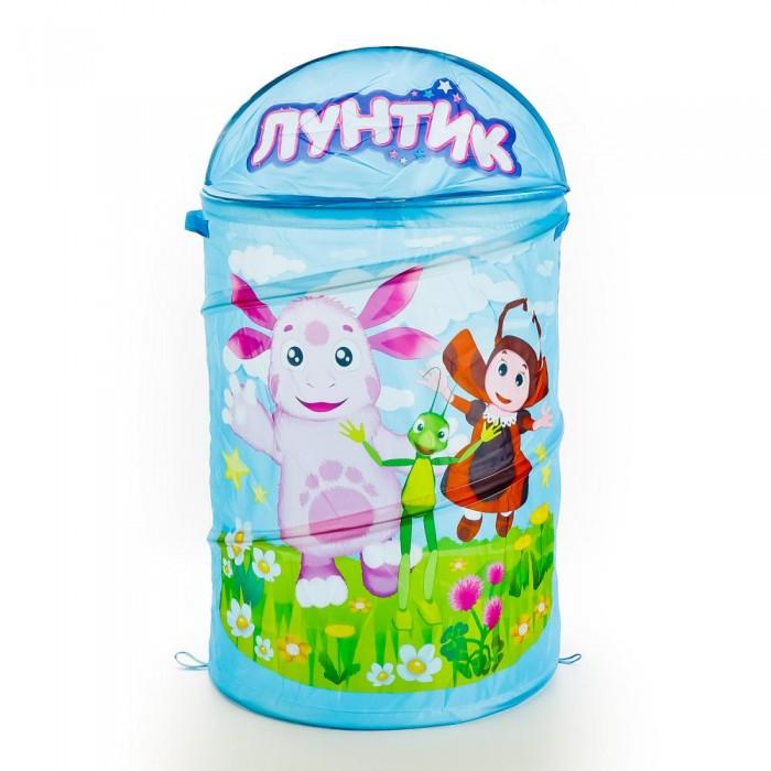 Играем вместе Корзина для игрушек Лунтик 43х60 см