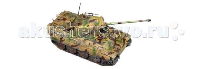 Конструктор Hobby World Сборная модель World of Tanks Pz Kpfw V Panther 1:56Сборная модель World of Tanks Pz Kpfw V Panther 1:56Hobby World Сборная модель World of Tanks Pz Kpfw V Panther 1:56 1629  «Пантера I» была разработана в качестве средства противостояния танкам, с которыми пришлось столкнуться немецким силам во время операции «Барбаросса». Считая советские танки устаревшими, немецкие конструкторы бронетанковой техники были поражены, увидев на Т-34 такие решения, как, например, наклонное расположение брони.   «Пантера» вобрала в себя советские инновации и увеличила их в масштабе. Впервые танк появился на поле боя в 1943 году. Его вес составлял около 45 тонн, это была огромная машина. Конструкторы танка попытались достичь технологической золотой середины между бронёй, скоростью и огневой мощью. На танке было установлено одно из лучших орудий войны — безотказная пушка 7,5 cm Kw.K 42 L/70.   Комплектация: - Пластиковые компоненты. - Инструкция по сборке. - Лист деколей. - Внутриигровой bonus-код (PC-версии RU-региона): 3 дня премиума. - Внутриигровой invite-код для игры World of Tanks (PC-версии RU-региона): 1 день премиума, премиум-танк T2 Light tank.<br>