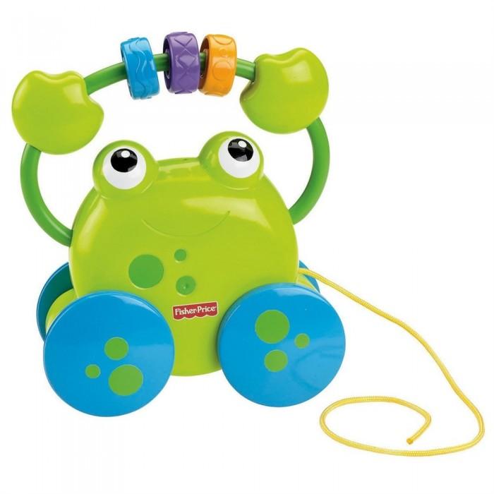Каталка-игрушка Fisher Price Активный лягушок
