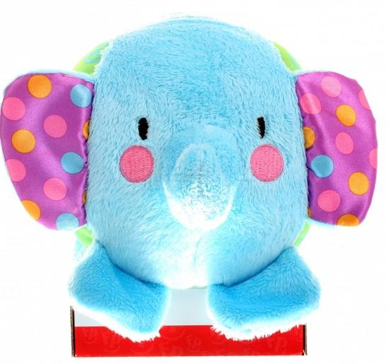 Мягкая игрушка Fisher Price Мячик-слоненокМячик-слоненокМячик &#129;Fisher Price слоненок   Маленький симпатичный слоненок умеет летать как мячик. Внутри у него находится небольшой колокольчик, который очень приятно звенит. Размер слоненка очень удобный, поэтому ребенку будет удобно его ловить. Играя таким образом, малыш начнет развивать свою ловкость.  Слоник мягкий и приятный на ощупь, а еще у него очаровательные шуршащие ушки.<br>