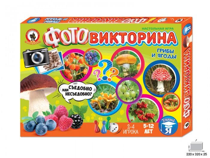 Русский стиль Игра настольная Фотовикторина Грибы и ягоды