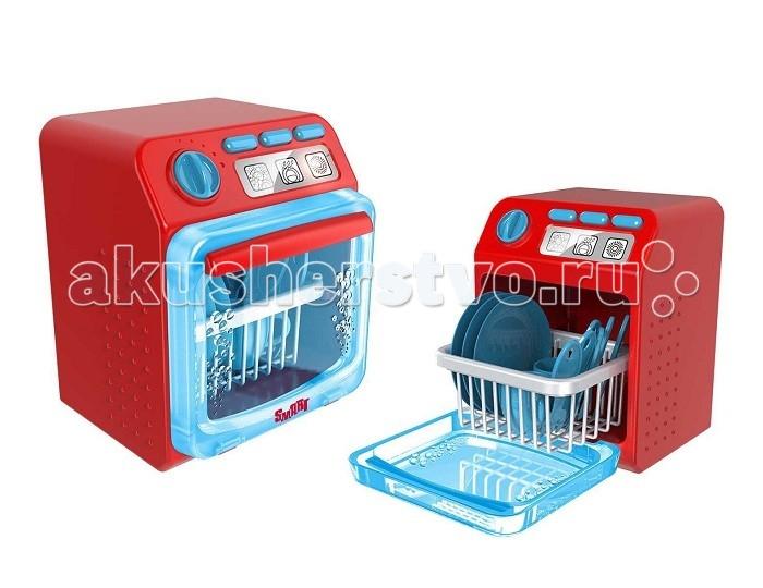 HTI Посудомоечная машина SmartПосудомоечная машина SmartПосудомоечная машина Smart от марки HTI - это замечательная игрушка с самого детства приучает ребенка к чистоте и порядку.   В процессе игры происходит не только знакомство малыша с техникой, но и его социальная, а также бытовая адаптация. Игровой набор Посудомоечная машина включает в себя непосредственно саму игрушечную технику, посуду и чашечки.   Чтобы начать работу с машиной, нужно выбрать программу мытья, слива и сушки, нажав специальные кнопки на панели. Работа машины сопровождается звуковыми и световыми эффектами.  Основные характеристики:   Размеры: 25.3 x 20 x 19.8 см Вес: 998 г<br>