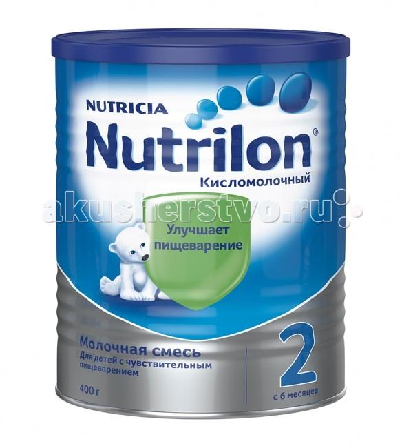 Nutrilon Заменитель Кисломолочный 2 с 6 месяцев 400 г