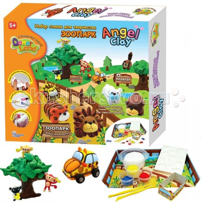 Angel Clay Игровой набор массы для лепки Зоопарк на русском языке