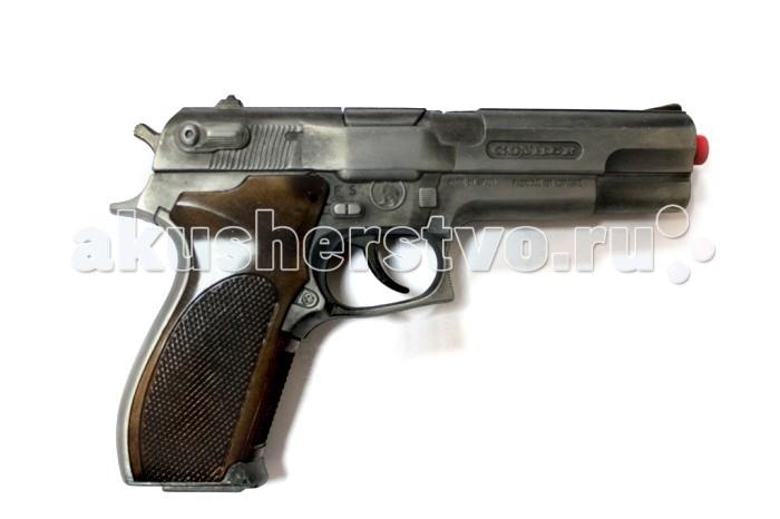 Gonher Игрушечное оружие Полицейский пистолет на 8 пистоновИгрушечное оружие Полицейский пистолет на 8 пистоновИгрушечное оружие Gonher Полицейский пистолет на 8 пистонов со звуковым эффектом.  Реалистичное оружие Gonher соответствует всем стандартам качества и отвечает самым высоким нормам безопасности.  Пистоны не входят в комплект!  Размер: 19,5х12,5 см.<br>
