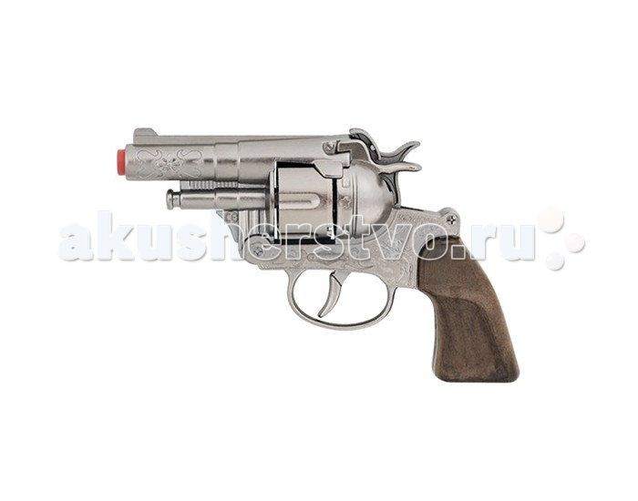 Gonher Игрушечное оружие Револьвер Police на 12 пистонов