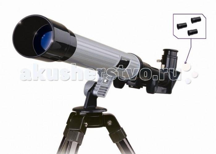 Eastcolight Набор для исследований Астрономический телескопНабор для исследований Астрономический телескопEastcolight Набор для исследования Астрономический телескоп  Этот компактный телескоп создано специально для детей, ведь какими бы красивыми ни были картинки в учебнике или книгах, практические занятия не сможет заменить ничто. Благодаря размерам и легкому весу, телескоп можно переносить с места на место – с этим справится даже ребенок. В комплект входят три окуляра, которые увеличивают изображение до 40 крат, и при этом ребенок сам сможет настроить четкость. Штатив для телескопа можно разобрать – делается это просто и легко. Также в комплект входят крепления, которые помогут ребенку установить и отрегулировать положение телескопа.  Возраст: от 7 лет Комплект: телескоп, штатив, сменные окуляры. Диаметр объектива (апертура): 3 см. Фокусное расстояние: 40 см. Окуляры в комплекте: 20x, 30x, 40x. Вес: 1 кг.<br>