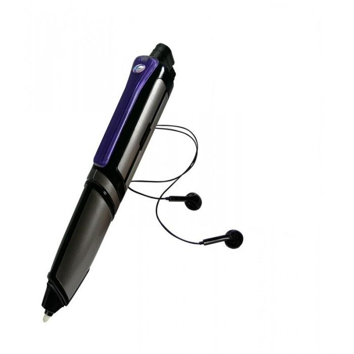 Eastcolight Многофункциональная шпионская ручка Spy Recording PenМногофункциональная шпионская ручка Spy Recording PenEastcolight Многофункциональная шпионская ручка Spy Recording Pen представляет собой необычную пишущую авторучку, которая идеально подойдет для игр в шпионов. Она может записать диалог или речь, которые также и воспроизводит. Записанный разговор можно прослушать при помощи специальных наушников, входящих в комплект. Также данной ручкой можно писать невидимый текст под строгим секретом, который никто не сможет прочитать, кроме адресата. Только лишь спец-агент сможет его расшифровать, наведя особый светодиод, который находится на ручке.  Возраст: от 3 лет Комплект: ручка, наушники. Наличие батареек: не входят в комплект. Тип батареек: 1 x AAA / LR0.3 1.5V (мизинчиковые). Диктофон: да. Максимальная длительность записи диктофона: 8 часов. Инфракрасный фонарик: да. USB: да.<br>