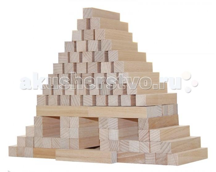 Конструктор Краснокамская игрушка Юниор 96 деталейЮниор 96 деталей«Юниор» - деревянный конструктор. Состоит из 96 брусков прямоугольной формы. Все детали неокрашены, чтобы ребенок смог в полной мере ощутить запах древесины, увидеть его фактуру и рисунок. Каждая фигура обработана так, что малыш не сможет поцарапаться или пораниться, конструктор абсолютно безопасен, даже если ребенок решит его попробовать на зубок. Из брусков ребенок может строить дома, замки, фигуры, развивая свои творческие навыки, ощущения равновесия и мелкую моторику.  Любители этой игры придумали множество ее вариаций, например построить башню, а затем, доставая брусочки из нижних рядов выкладывать новые этажи сверху так, чтобы конструкция не рушилась. Здесь очень важна аккуратность, потому что если башня падает, игрок проиграл.   Можно также написать на детальках несложные задания, например спеть песню или прокукарекать, получается что-то похожее с «фантами». Достаете брусок – выполняете задание. Получается и полезно, и весело. Также с боку можно написать номерки, бросать игральные кубики и вытаскивать именно тот брусок, который определит кубик. Азарт и напряжение гарантировано!  Каждая деталь конструктора выполнена из экологических материалов – натурального дерева (бук, береза, липа).<br>
