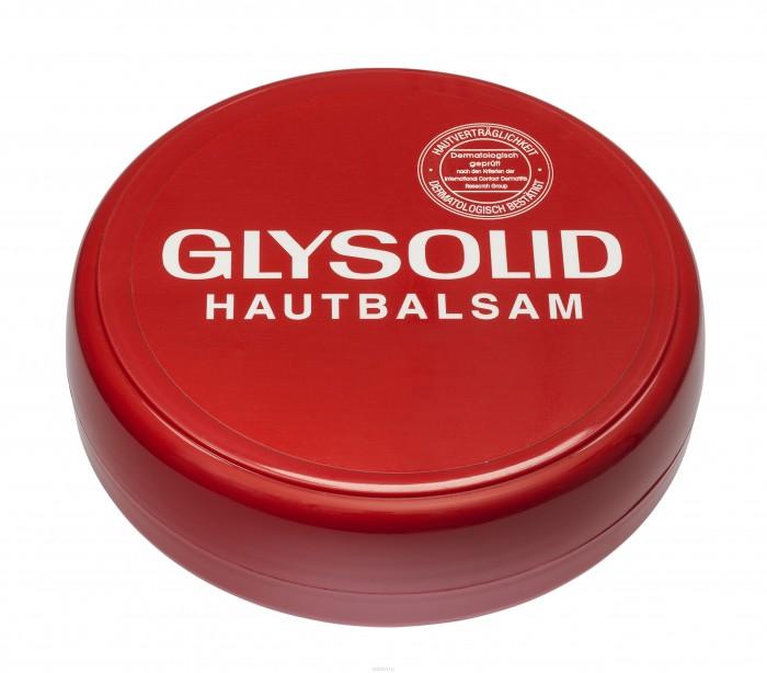 Glysolid Бальзам для кожи 100 млБальзам для кожи 100 млGlysolid действует как защита при неблагоприятных климатических условиях, холоде и жаре, ветреной погоде, при физических нагрузках.  Бальзам для кожи Glysolid - быстрая помощь для потрескавшейся и сухой кожи.   Glysolid питает, заживляет раны, поддерживает регенерацию кожи, одновременно защищая ее.   Без запаха.  Гипоаллергенен.  При регулярном применении быстро и надолго улучшит состояние Вашей кожи.  Для всей семьи на каждый день. Подходит для детей с первых дней жизни и людям с заболеваниями кожного покрова.  Без консервантов, красителей, парабенов, дерматологически протестирован.  Состав: Glycerin, Aqua, Ceteeryl Alcohol, Decyl Oleate, Ceteareth - 12, Allantoin, Dimethicone, Sodium Cetearly Sulfate, Ceteareth 20, Silica<br>