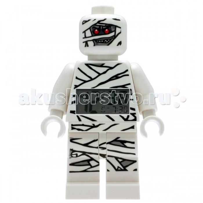 Часы Clic Time Будильник LEGO Monster Fighters минифигура Mummy (Мумия)Будильник LEGO Monster Fighters минифигура Mummy (Мумия)Будильник LEGO Monster Fighters минифигура Mummy (Мумия)  Если Ваш ребенок не любит вставать по утрам, а монотонные звуки будильника вызывают у него слезы или апатию, то утреннее пробуждение необходимо сделать игрой. Для этого отлично подойдет красивый будильник от Лего.   Новая яркая игрушка вызовет у вашего ребенка восторг и интерес, а изображение любимого героя вдохновит на подвиги. Применив немного фантазии, отход ко сну и утреннее пробуждение станут веселой игрой, к которой с удовольствием подключится Ваш ребенок.   Игрушка сделана в виде минифигурки, оснащена удобным цифровым дисплеем с подсветкой и функцией отсрочки звукового сигнала.<br>