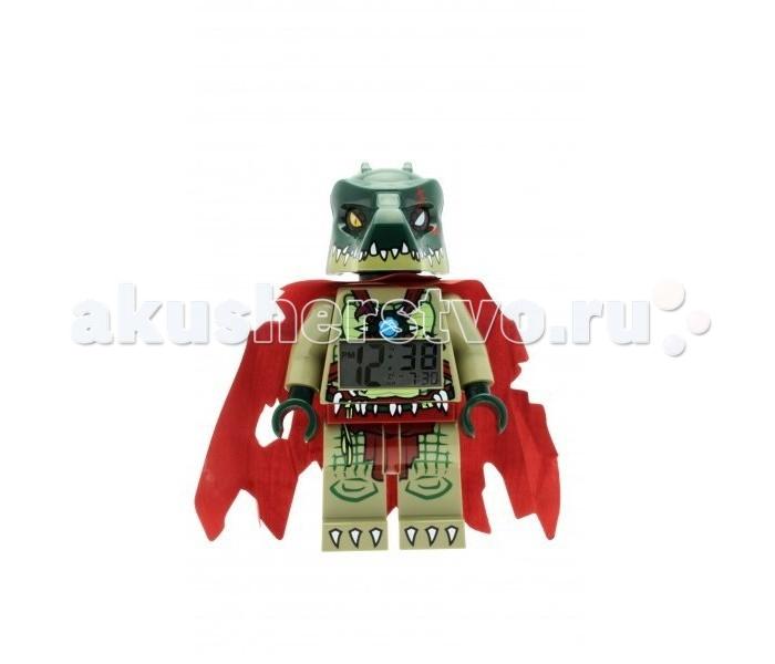 Часы Clic Time Будильник LEGO Legends of Chima минифигура CraggerБудильник LEGO Legends of Chima минифигура CraggerБудильник Lego Legends of Chima минифигура Cragger  Если Ваш ребенок не любит вставать по утрам, а монотонные звуки будильника вызывают у него слезы или апатию, то утреннее пробуждение необходимо сделать игрой. Для этого отлично подойдет красивый будильник от Лего.   Новая яркая игрушка вызовет у вашего ребенка восторг и интерес, а изображение любимого героя вдохновит на подвиги. Применив немного фантазии, отход ко сну и утреннее пробуждение станут веселой игрой, к которой с удовольствием подключится Ваш ребенок.   Игрушка сделана в виде минифигурки, оснащена удобным цифровым дисплеем с подсветкой и функцией отсрочки звукового сигнала.<br>