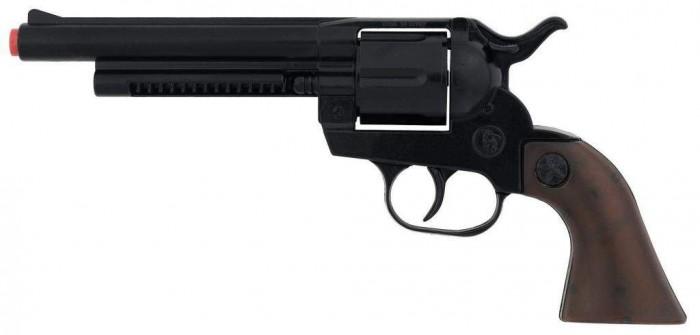 Gonher Игрушечное оружие Ковбойский револьвер на 12 пистонов