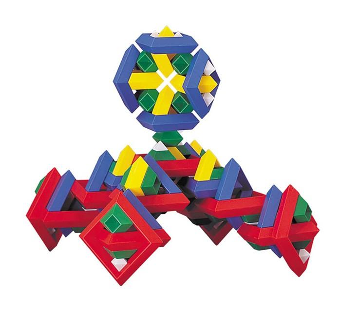Конструктор Wedgits eхplorer Pak 125 деталейeхplorer Pak 125 деталейWedgits Конструктор eхplorer Pak 125 деталей – замечательная игрушка для детей от 5 до 7 лет, не имеющая аналогов по стилю и дизайну. Самый большой набор! С помощью деталей получатся разнообразные пирамиды и конструкции из геометрических фигур, которые ребенок придумает и соберет самостоятельно. Детали конструктора изготовлены из легкой, безопасной и очень прочной пластмассы; их легко складывать благодаря специальным пазам, которые удерживают фигуры в пирамиде и она не рассыпается.  Построить дети смогут все, что есть в подробной инструкции, либо все, что позволит фантазия: от простых абстрактных фигур до осознанных персонажей! Это не просто увлекательный творческий процесс, но и отличное развивающее занятие, которое тренирует массу полезных интеллектуальных навыков ребенка: воображение, память, моторику рук, речь, ориентацию в трехмерном пространстве, координацию движений. Играть можно как самостоятельно, так и в команде.  В комплект входят 125 деталей:   цветные ромбы кристаллы<br>