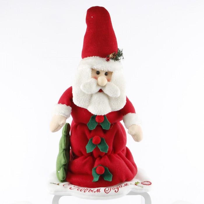 Интерактивная игрушка LAPA House  Дед Мороз 33 смДед Мороз 33 смИнтерактивная игрушка LAPA House Дед Мороз 33 см  в красном, украсит Ваш праздник! Кукла механическая со звуком.  Особенности: Он обязательно подарит ощущение праздника и радости!  Игрушка выполнена из высококачественных разнофактурных тканей и искусственного меха.  Работает от элементов питания, батарейки в комплект не входят.<br>