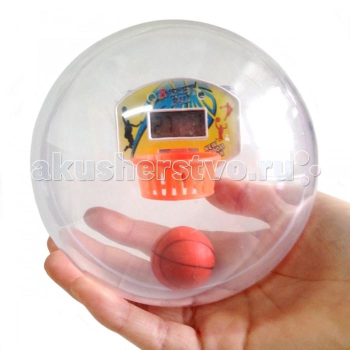 Labirintus Интерактивная головоломка Лабиринтус БаскетболИнтерактивная головоломка Лабиринтус БаскетболLabirintus Лабиринтус Баскетбол   Лабиринтус Баскетбол представляет собой прозрачную сферу, внутри которой находится баскетбольный щит и мяч.   Задача игрока за 60 секунд сделать как можно больше результативных бросков в кольцо. Когда время на попытку закончится прозвучит звуковой сигнал.   Играйте с друзьями в любимую игру, а определить победителя поможет электронное табло, расположенное над баскетбольным кольцом.<br>