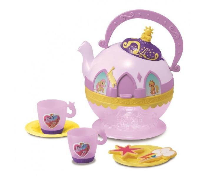 My Little Pony Набор посудкиНабор посудкиMy Little Pony Набор посудки  В набор входит: чайник, 2 чашки, два блюдца, 2 аксессуара.  Детям от 3 лет<br>