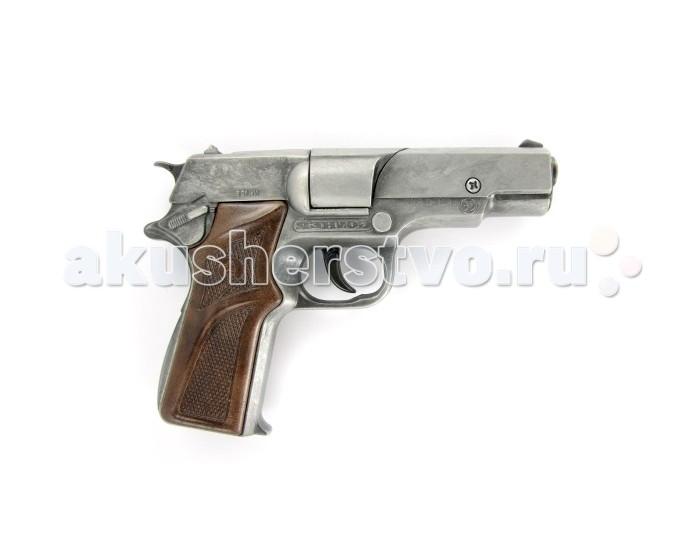 Gonher Игрушечное оружие Полицейский пистолет на 8 пистонов