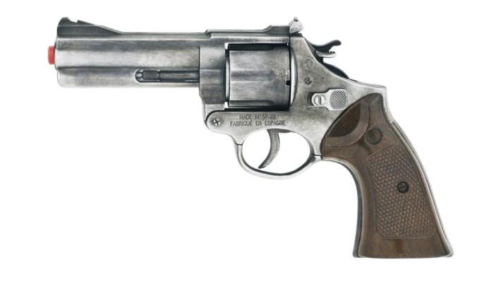 Gonher Игрушечное оружие Полицейский пистолет на 12 пистоновИгрушечное оружие Полицейский пистолет на 12 пистоновИгрушечное оружие Gonher Полицейский пистолет на 12 пистонов  Реалистичное оружие Gonher соответствует всем стандартам качества и отвечает самым высоким нормам безопасности.  Пистоны в комплект не входят.<br>