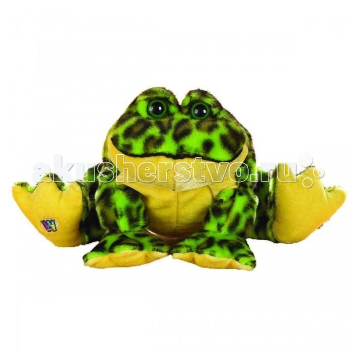 Мягкая игрушка Ganz Лягушка-бык 16,5 см