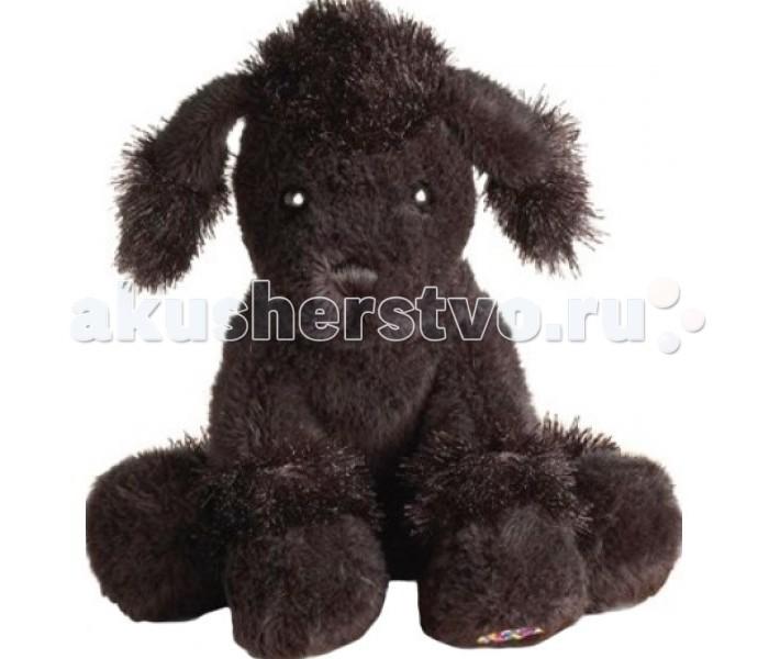 Мягкая игрушка Ganz Черный пудель 16,5 см
