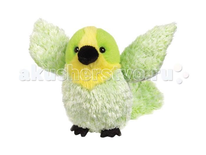 Мягкая игрушка Ganz Волнистый попугайчик 12,7 смВолнистый попугайчик 12,7 смМягкая игрушка Ganz Волнистый попугайчик 12,7 см станет настоящим другом ребенка. Игрушка выполнена из приятных на ощупь материалов салатового, белого и желтого цветов. Такая нежная расцветка свойственна представителям пернатых. Глазки сделаны из черных пластиковых бусин.   Вот уж с кем вы точно никогда не соскучитесь!   Рекомендуемый возраст - от 3х лет.  Размер мягкой игрушки- 12,7 см<br>