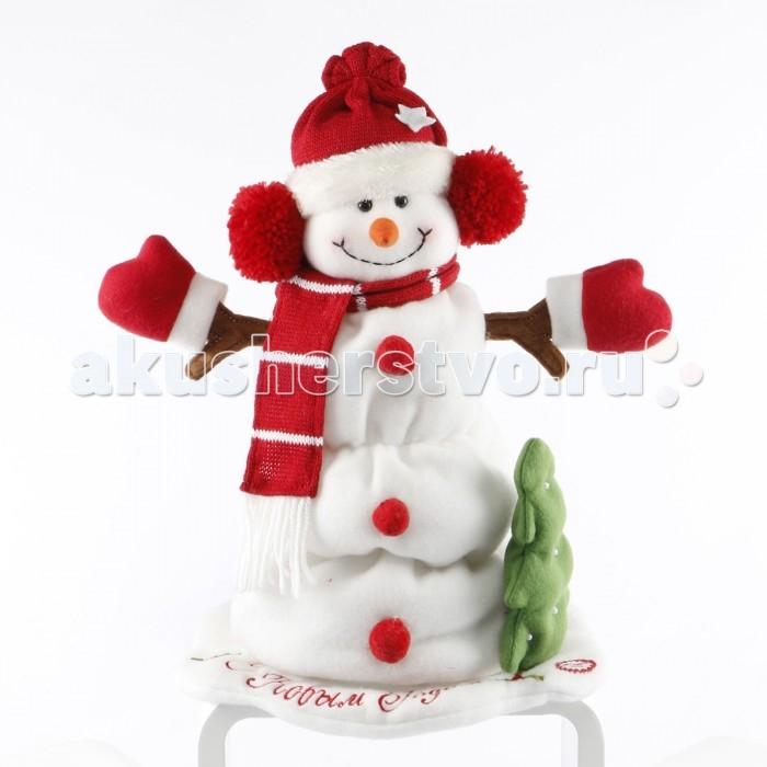 Интерактивная игрушка LAPA House  Снеговик 30 смСнеговик 30 смИнтерактивная игрушка LAPA House Снеговик 30 см украсит Ваш праздник! Игрушка танцует, поет песенку.  Особенности: Он обязательно подарит ощущение праздника и радости!  Игрушка выполнена из высококачественных разнофактурных тканей и искусственного меха.  Работает от элементов питания, батарейки в комплект не входят.<br>