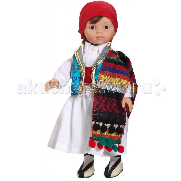 Paola Reina Кукла Фаллер 32 смКукла Фаллер 32 смКукла Paola Reina Фаллер 32 см   Особенности:   уникальный дизайн лица, ручная работа при изготовлении ресниц, веснушек, щечек, губ, прически;   детали лица тщательно проработаны;   «ямочки» на коленках;   на пальчики рук можно одевать колечки;   руки, голова и ноги - подвижны;   глаза куклы не закрываются;   имеет нежный ванильный аромат (гипоаллергенна)    Качество подтверждено нормами безопасности EN17 ЕЭС.   Материалы: кукла изготовлена из винила, глаза выполнены из прозрачного твердого пластика, волосы сделаны из высококачественного нейлона.   Высота: 32 см<br>