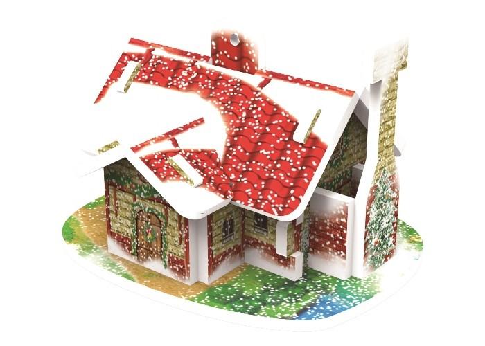 Конструктор Educa 3D пазл Рождественский дом3D пазл Рождественский домEduca 3D пазл Рождественский дом  Модели удивительного 3D пазла-конструктора. Способствует развитию внимания, зрительного восприятия, логического и образного мышления, мелкой моторики рук. Тренирует навык восприятия новой информации, расширяет кругозор и обогащает внутренний мир ребенка.  Модели изготовлены из пенокартона, идеально и легко собирается без использования дополнительных инструментов.  Количество деталей: 10 Уровень сложности: 2 Размер: 5.9 х 4.2 х 4.7 см Возраст: от 5 лет.<br>