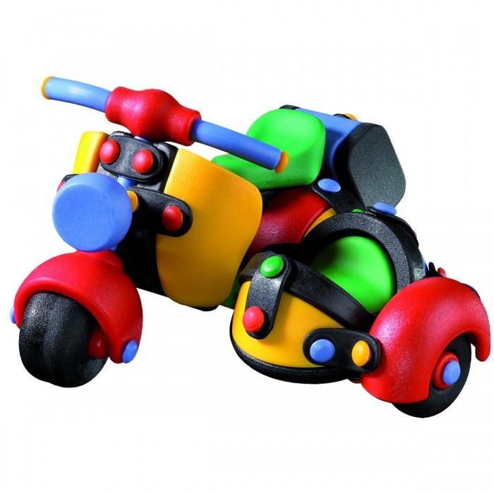 Конструктор Mic-o-mic Конструктор Мотоцикл трёхколёсныйКонструктор Мотоцикл трёхколёсныйMic-o-mic Конструктор Мотоцикл трёхколёсный  Привлекательная игрушка с очень веселым и ярким дизайном.   Конструктор Mic-o-Mic Мотоцикл трёхколёсный - это модель мотоцикла с коляской для пассажира, у которой крутятся колеса. Игрушка собрана из высококачественных материалов, что абсолютно безвредно для малышей.   Самый приятный подарок для мальчика.   Возраст: от 5 лет.  Материал: пластик.  Размер: размер: 12,7 x 11,7 x 7,8 cм.  В наборе: 35 конструктивных элементов, 43 пластины, 18 кнопок.<br>