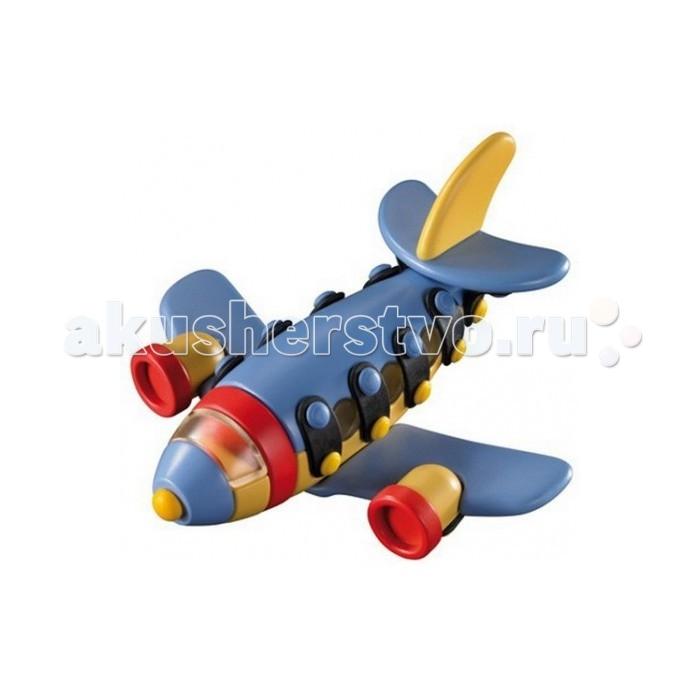 Конструктор Mic-o-mic Конструктор Самолёт реактивныйКонструктор Самолёт реактивныйMic-o-mic Конструктор Самолёт реактивный  Очень яркая и красочная игрушка - конструктор Самолет реактивный малый несомненно понравится вашему маленькому пилоту. Все элементы данного конструкторы выполнены из экологически-чистых и качественных материалов.   У самолета крутятся пропеллер и колеса. Любой ребенок будет рад такому чудесному конструктору.   Возраст: от 5 лет.  Материал: пластик.  Размер: размер: 12,5 х 13,0 х 7,0 см.  В наборе: 22 конструктивных элементов, 14 пластинок, 28 кнопок<br>