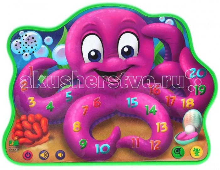 Развивающая игрушка Learning Journey Веселый ОсьминогВеселый ОсьминогLearning Journey Веселый Осьминог станет прекрасным подарком для каждого малыша. Она изготовлена из пластика высокого качества и обладает световыми и звуковыми эффектами. На теле забавного фиолетового осьминога расположено 23 сенсорных кнопочки, при нажатии на которые загораются лампочки и играют звуки. Игра развивает память, логику и мелкую моторику рук.  Возраст: от 2 лет Эффекты: со световыми и звуковыми эффектами Особенности: 23 сенсорные кнопки.<br>