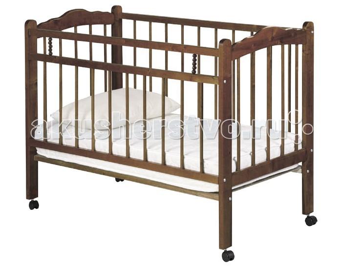 Детская кроватка Ладушка Л-2 колесо