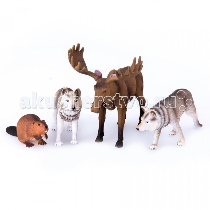 Mojo Набор игровых фигурок Animal Planet средний 4 шт. Лесные животные 2