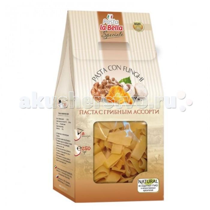 Pasta la Bella Baby Макароны Паста с грибным ассорти 250 г