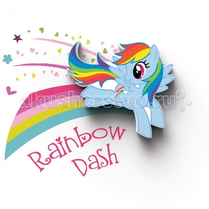 Светильник 3DlightFX Пробивной мини 3D My Little Pony-Rainbow Dash