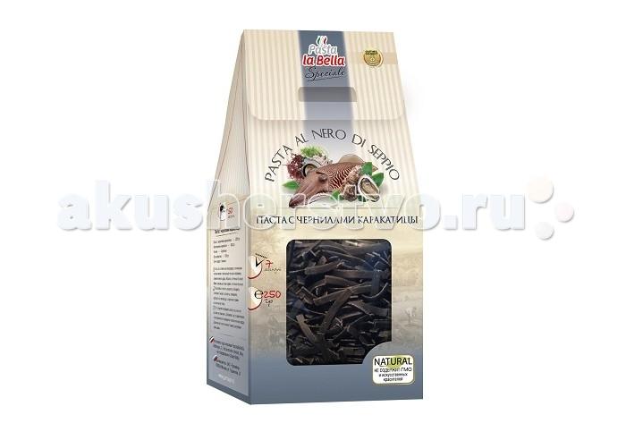 Pasta la Bella Baby Макароны Паста с чернилами каракатицы 250 г