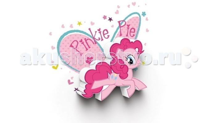 Светильник 3DlightFX Пробивной мини 3D светильник My Little Pony-Pinky PieПробивной мини 3D светильник My Little Pony-Pinky PieПробивной мини 3D светильник My Little Pony-Pinky Pie Безопасный: без проводов, работает от батареек (2хААА, не входят в комплект); Не нагревается: всегда можно дотронуться до изделия; Реалистичный:3D наклейка в комплекте; Фантастический: выглядит превосходно в любое время суток; Удобный: простая установка (автоматическое выключение через полчаса непрерывной работы). Товар предназначен для детей старше 3 лет. ВНИМАНИЕ! Содержит мелкие детали, использовать под непосредственным наблюдением взрослых.   Основные характеристики:   Размеры: 0,165 х 0,14 х 0,036 м Вес: 0,16 кг<br>