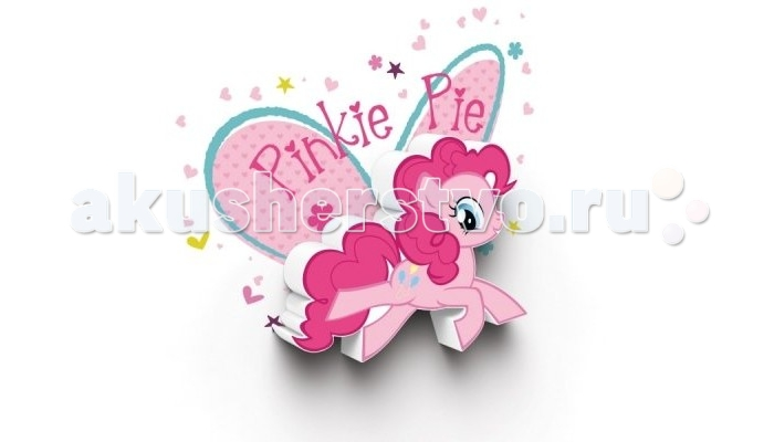 Светильник 3DlightFX Пробивной мини 3D My Little Pony-Pinky Pie