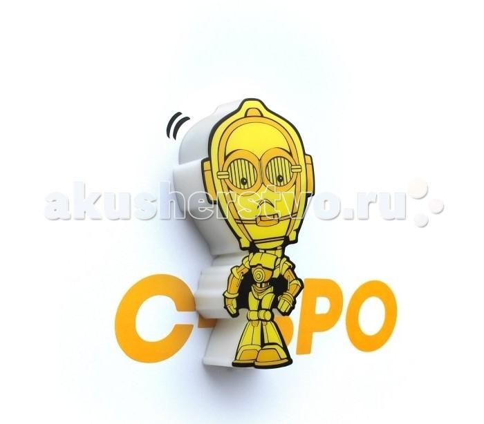 Светильник 3DlightFX Пробивной мини 3D StarWars (Звёздные Войны) C-3PO (Золотник, Си-Трипио)