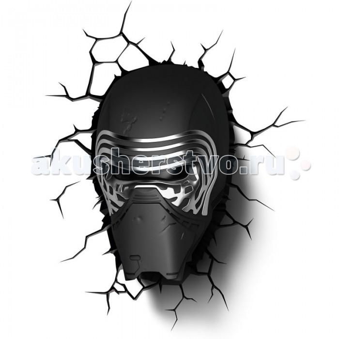 Светильник 3DlightFX Пробивной 3D StarWars (Звёздные Войны) Kylo Ren (Кайло Рен)
