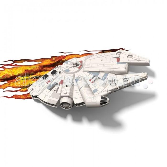 Светильник 3DlightFX Пробивной 3D StarWars (Звёздные Войны) Millennium Falcon (Тысячелетний сокол)