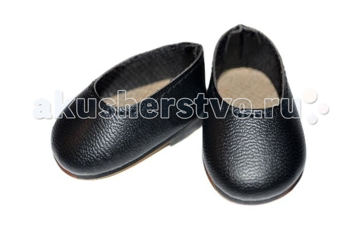 Paola Reina Туфли черные для куклы 32 смТуфли черные для куклы 32 смОбувь для куклы Paola Reina Туфли черные  Стильная и модная обувь для любимой куклы.  Размер: 32 см<br>