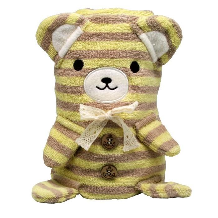 Cool Toys Трансформер Полотенце-Игрушка Медвежонок 100 x 70 см