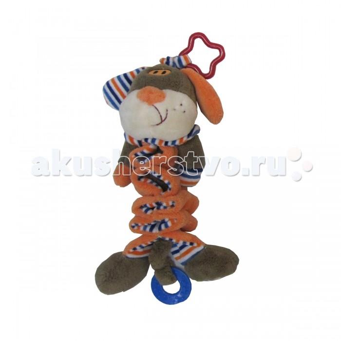 Подвесная игрушка Cool Toys Развивашки Пёсик музыкальная 22 см