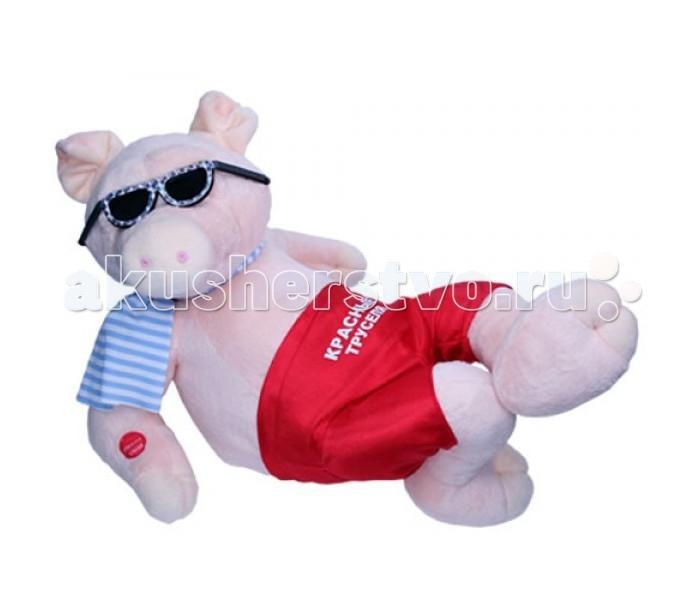 Мягкая игрушка Ваш подарок Поющий Душевный Поросенок