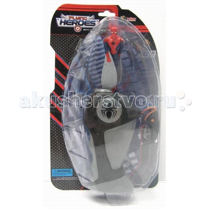 I-Star Spiderman Летающий герой мини в наборе с запускающим устройствомSpiderman Летающий герой мини в наборе с запускающим устройствомI-Star Spiderman Летающий герой мини в наборе с запускающим устройством это игровой набор для мальчика. Спайдермен в миниатюре изготовлен достаточно детализировано и все характерные черты хорошо различимы и узнаваемы.   Игрушечная копия персонажа выполнен из высококачественного пластика и оборудована специальным устройством с механизмом для запуска.   Для того, чтобы отправить супергероя в полет, нужно установить фигурку в совместимый разъем на рукоятке и резко потянуть за специальный шнурок, что приводит движение человека-паука, выталкивая его вверх. При этом игрушка раскручивается и в полете эффектно вращает лопастями-руками.  Размер игрушки: 0,7 х 0,18 х 0,31 см<br>